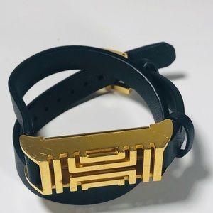 💃 💃 💃 Tory Burch black wrap bracelet